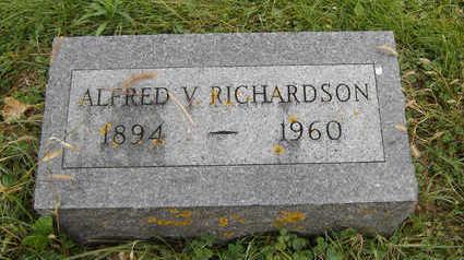 RICHARDSON, ALFRED V. - Clayton County, Iowa | ALFRED V. RICHARDSON