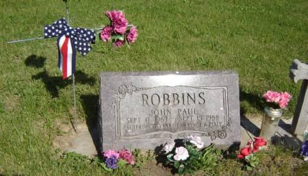 ROBBINS, JOHN PAUL - Clayton County, Iowa | JOHN PAUL ROBBINS