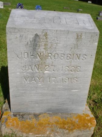 ROBBINS, JOHN - Clayton County, Iowa | JOHN ROBBINS