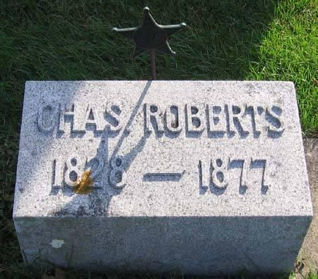 ROBERTS, CHARLES W. - Clayton County, Iowa | CHARLES W. ROBERTS