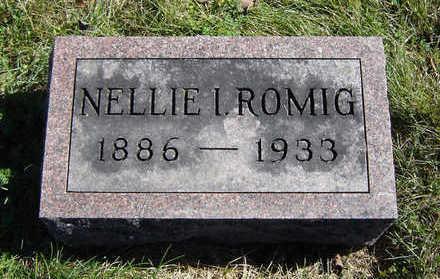 PARSONS ROMIG, NELLIE I. - Clayton County, Iowa   NELLIE I. PARSONS ROMIG