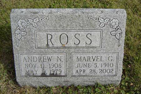 ROSS, MARVEL G. - Clayton County, Iowa   MARVEL G. ROSS