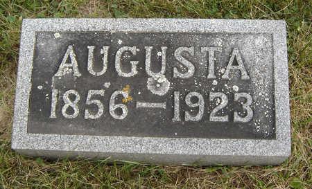 RUEGNITZ, AUGUSTA - Clayton County, Iowa   AUGUSTA RUEGNITZ