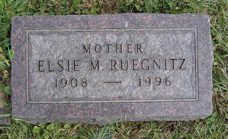 RUEGNITZ, ELSIE M. - Clayton County, Iowa | ELSIE M. RUEGNITZ