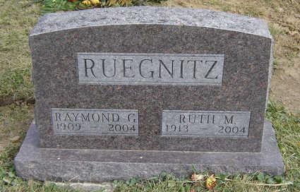 RUEGNITZ, RAYMOND G. - Clayton County, Iowa | RAYMOND G. RUEGNITZ