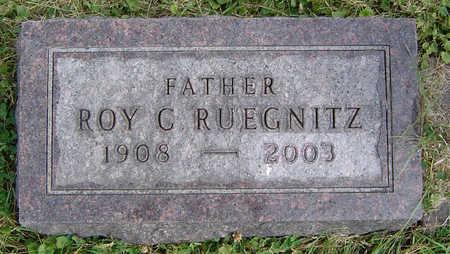 RUEGNITZ, ROY C. - Clayton County, Iowa | ROY C. RUEGNITZ