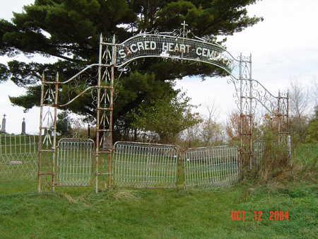 SACRED HEART - LITTLEPORT, CEMETERY - Clayton County, Iowa | CEMETERY SACRED HEART - LITTLEPORT