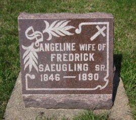 SAEUGLING, ANGELINE - Clayton County, Iowa | ANGELINE SAEUGLING
