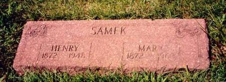 SAMEK, MARY - Clayton County, Iowa | MARY SAMEK