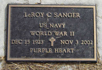 SANGER, LEROY C. - Clayton County, Iowa | LEROY C. SANGER