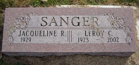 SANGER, JACQUELINE R. - Clayton County, Iowa | JACQUELINE R. SANGER