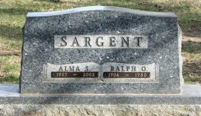 SARGENT, RALPH OLIVER - Clayton County, Iowa   RALPH OLIVER SARGENT
