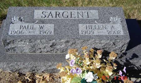 SARGENT, PAUL W. - Clayton County, Iowa | PAUL W. SARGENT