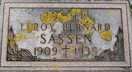 SASSEN, LEROY BERNARD - Clayton County, Iowa | LEROY BERNARD SASSEN