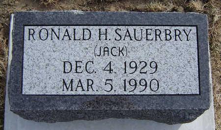 SAUERBRY, RONALD H. (JACK) - Clayton County, Iowa | RONALD H. (JACK) SAUERBRY
