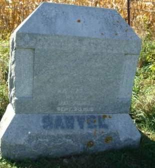 SAWVEL, KATHARINE - Clayton County, Iowa   KATHARINE SAWVEL