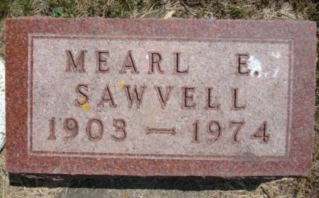 SAWVELL, MEARL E. - Clayton County, Iowa   MEARL E. SAWVELL