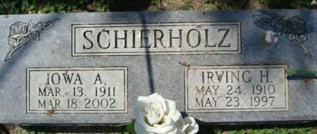 SCHIERHOLZ, IRVING H. - Clayton County, Iowa | IRVING H. SCHIERHOLZ
