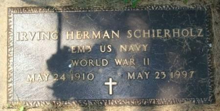 SCHIERHOLZ, IRVING HERMAN - Clayton County, Iowa | IRVING HERMAN SCHIERHOLZ
