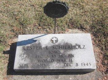 SCHIERHOLZ, LESTER L. - Clayton County, Iowa | LESTER L. SCHIERHOLZ