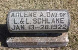 SCHLAKE, ARLENE A. - Clayton County, Iowa | ARLENE A. SCHLAKE