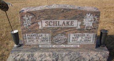 SCHLAKE, VERDIS V. - Clayton County, Iowa | VERDIS V. SCHLAKE