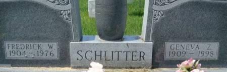SCHLITTER, GENEVA Z. - Clayton County, Iowa | GENEVA Z. SCHLITTER