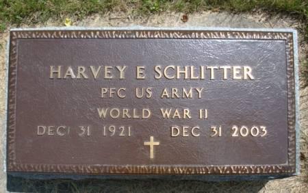 SCHLITTER, HARVEY E. - Clayton County, Iowa | HARVEY E. SCHLITTER