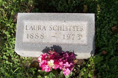 GENZ SCHLITTER, LAURA - Clayton County, Iowa   LAURA GENZ SCHLITTER