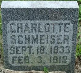 SCHMEISER, CHARLOTTE - Clayton County, Iowa | CHARLOTTE SCHMEISER