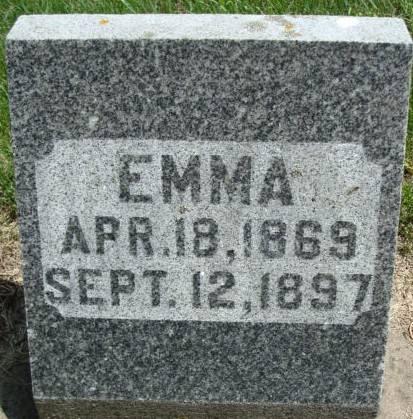 SCHMEISER, EMMA - Clayton County, Iowa | EMMA SCHMEISER