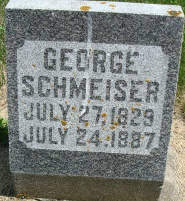 SCHMEISER, GEORGE - Clayton County, Iowa | GEORGE SCHMEISER