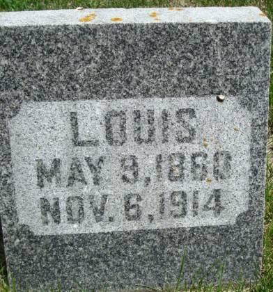 SCHMEISER, LOUIS - Clayton County, Iowa   LOUIS SCHMEISER