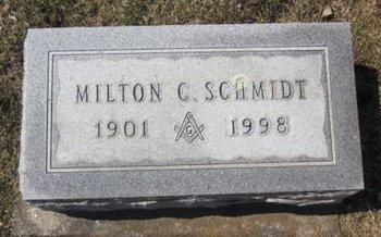 SCHMIDT, MILTON C. - Clayton County, Iowa | MILTON C. SCHMIDT