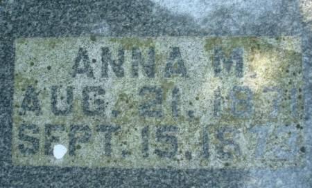 SCHMITT, ANNA M. - Clayton County, Iowa   ANNA M. SCHMITT