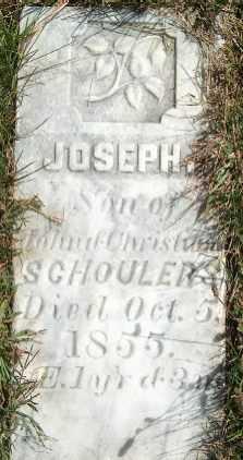 SCHOULERS, JOSEPH - Clayton County, Iowa | JOSEPH SCHOULERS
