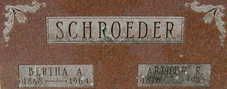 SCHROEDER, BERTHA A. - Clayton County, Iowa | BERTHA A. SCHROEDER