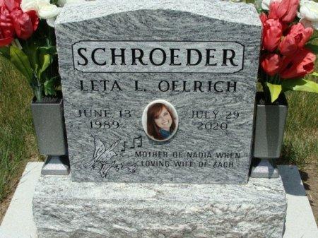 SCHROEDER, LETA L. - Clayton County, Iowa   LETA L. SCHROEDER