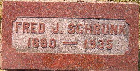 SCHRUNK, FRED J. - Clayton County, Iowa | FRED J. SCHRUNK