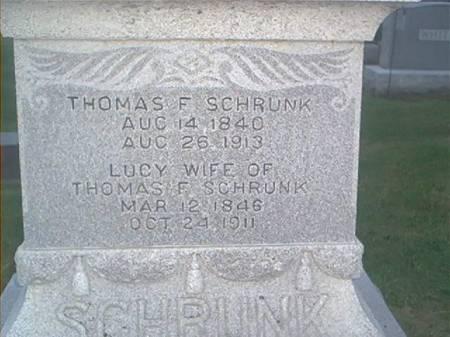 SCHRUNK, THOMAS F. & LUCY - Clayton County, Iowa | THOMAS F. & LUCY SCHRUNK