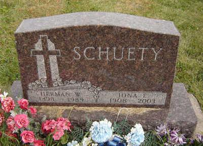 SCHUETY, IONA E. - Clayton County, Iowa | IONA E. SCHUETY