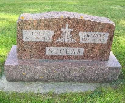 SECLAR, JOHN - Clayton County, Iowa   JOHN SECLAR
