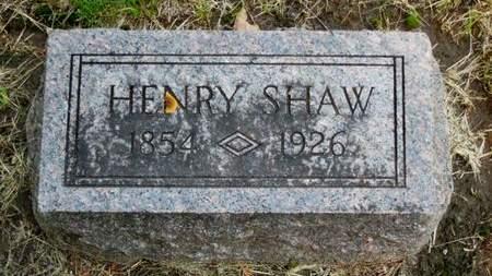SHAW, HENRY - Clayton County, Iowa | HENRY SHAW