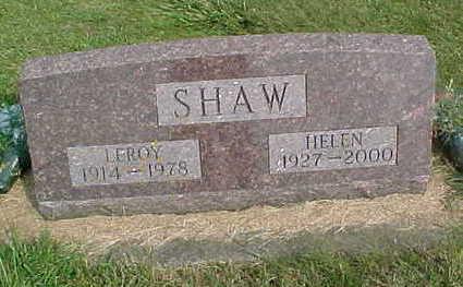 SHAW, HELEN - Clayton County, Iowa | HELEN SHAW