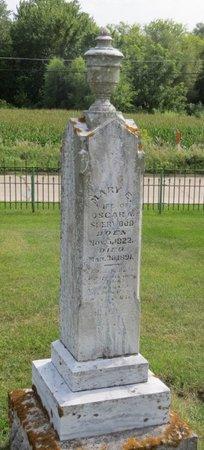 SHERWOOD, MARY E. - Clayton County, Iowa   MARY E. SHERWOOD