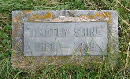 SHINE, TIMOTHY - Clayton County, Iowa | TIMOTHY SHINE