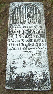 SINGER, HERMAN H. - Clayton County, Iowa   HERMAN H. SINGER