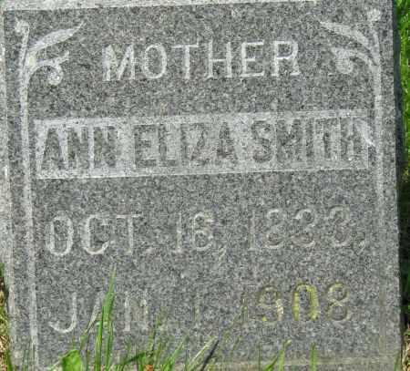 SMITH, ANNA ELIZA - Clayton County, Iowa | ANNA ELIZA SMITH