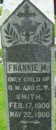 SMITH, FRANKIE M. - Clayton County, Iowa   FRANKIE M. SMITH