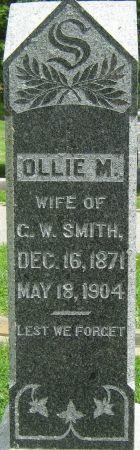 SMITH, OLLIE M. - Clayton County, Iowa   OLLIE M. SMITH